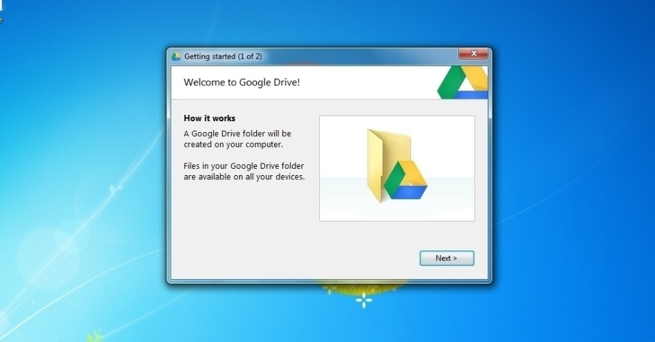 how to do a slideshow from google drive