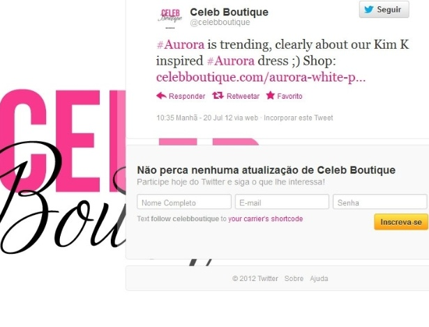 Idiotic Online 'Celeb Boutique' Briefly Thrilled That ...