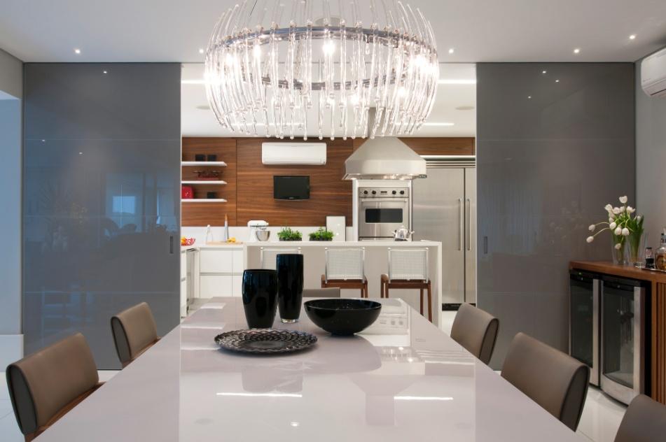 Cozinhas americanas bem planejadas otimizam o espaço e ...