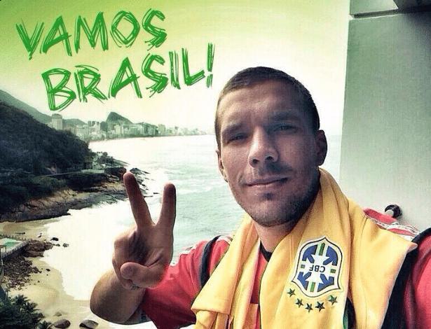 Podolski foi melhor que Cristiano em 2006. No Brasil a20a786981bb3