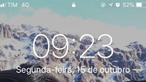 Chegou adiantado? | Usuários reclamam que relógio do celular mudou sozinho hoje