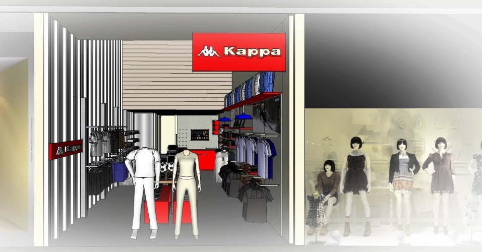 f1c77c23a Kappa, franquia de origem italiana de vestuário, calçados e artigos  esportivos: investimento inicial a partir de R$ 260 mil (custos de  instalação + taxa de ...