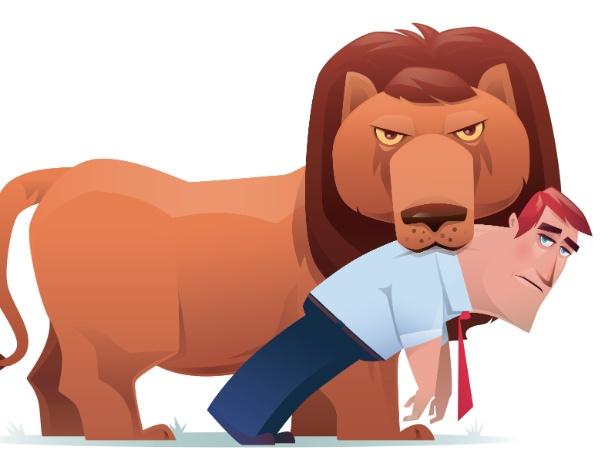 Resultado de imagem para leão imposto de renda