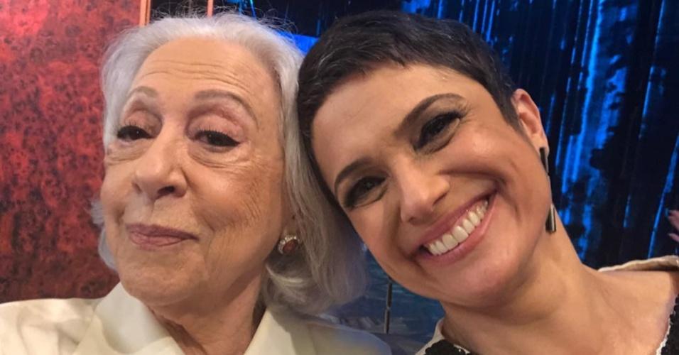 Sandra Annenberg e Fernanda Montenegro