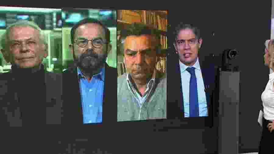 Manhattan Connection com Lucas Mendes, Caio Blinder, Diogo Mainardi e Ricardo Amorim - Reprodução/GloboNews