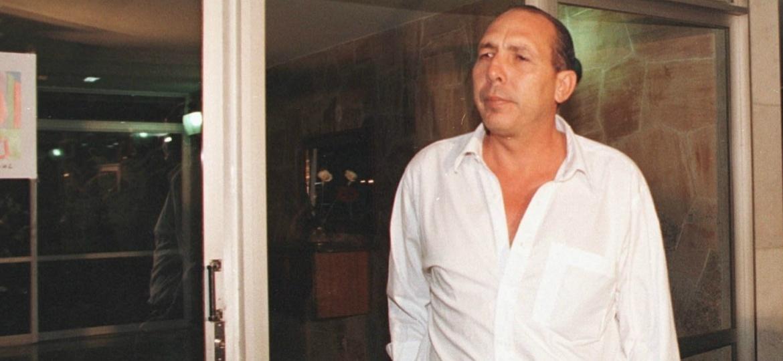Hildebrando Pascoal, ex-deputado e ex-coronel da PM do Acre, condenado por integrar grupo de extermínio na década de 1990 - 22.set.1999 - Ichiro Guerra/Folhapress