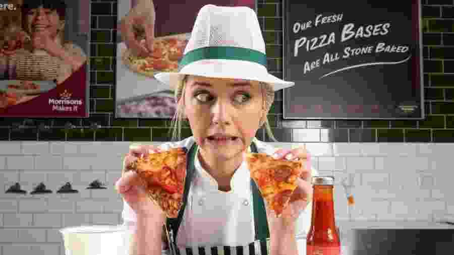 O mercado esconde nas pizzas a sétima pimenta mais quente do mundo - Reprodução/Morrisons