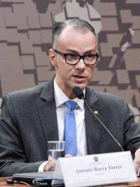 Barra Torres já ocupava o cargo de diretor-presidente substituto da Anvisa - Leopoldo Silva/Agência Senado