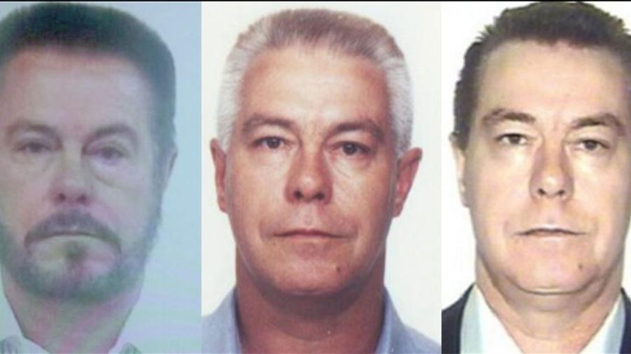 """O traficante Luiz Carlos da Rocha, o """"Cabeça Branca"""", que mudou de rosto para fugir da polícia - Divulgação/PF"""