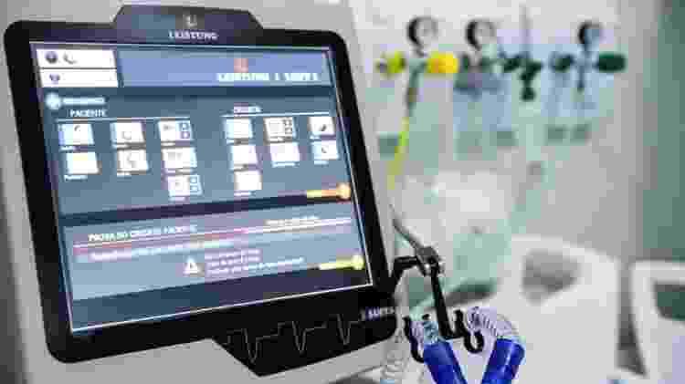 leito de uti monitor - Rodrigo Félix Leal/ANPr - Rodrigo Félix Leal/ANPr
