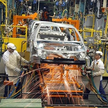 Linha de produção da fábrica da GM em São Caetano do Sul (SP) - Divulgação