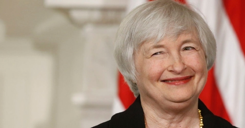 Janet Yellen, presidente do Fed, banco central dos EUA