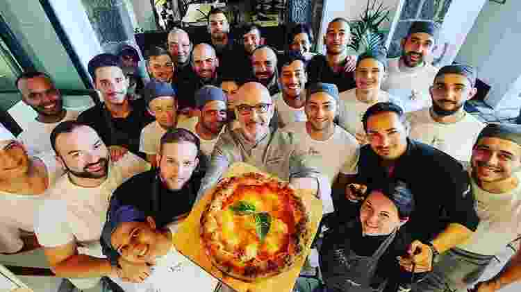 O vencedor ressaltou que, para esta edição, sua pizzaria focou no cardápio funcional e mais saudável - Instagram/francopepeingrani