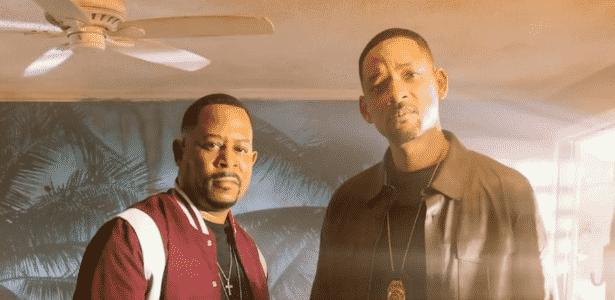 """Will Smith e Martin Lawrence estão de volta em primeira foto oficial do filme """"Bad Boys 3"""" - Reprodução/Instagram"""