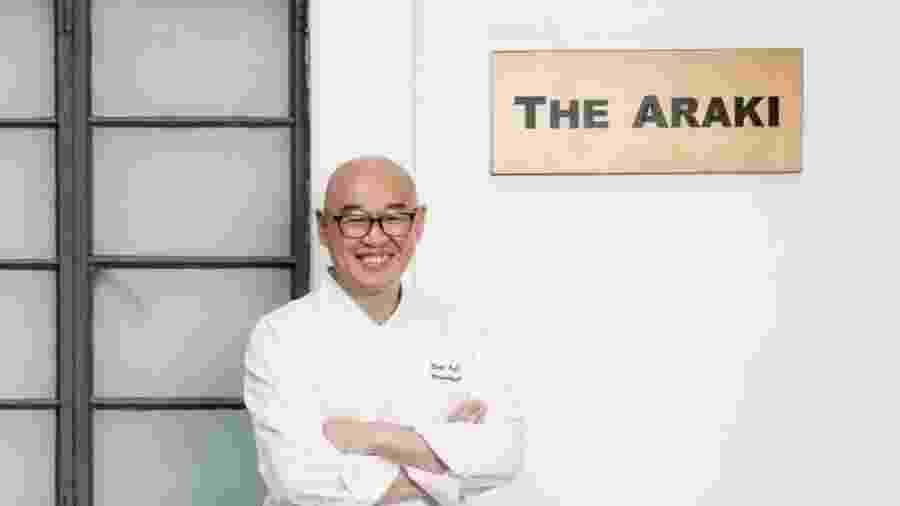 Chef japonês Mitsuhiro Araki, idealizador do restaurante Araki  - Instagram/jensenhoi