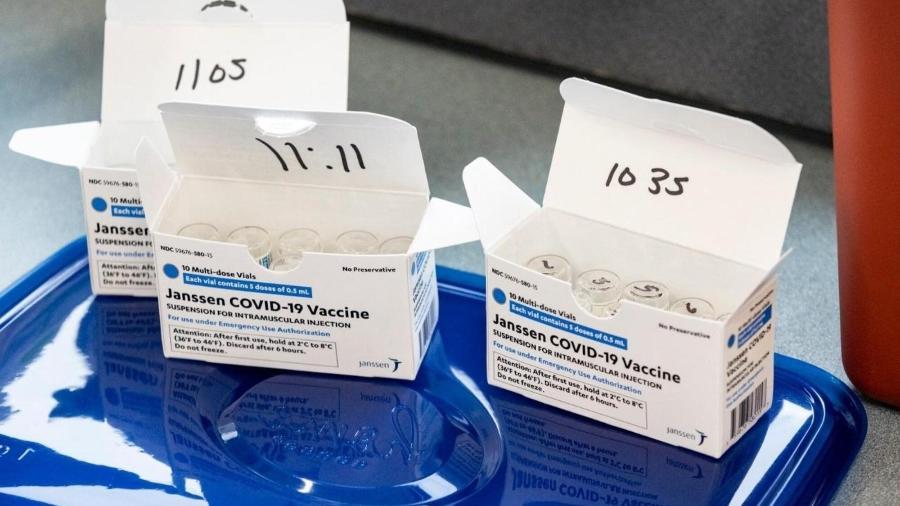 Lote com 3 milhões de vacinas tem prazo de validade até o dia 27 de junho - Stephen Zenner / Getty Images via AFP