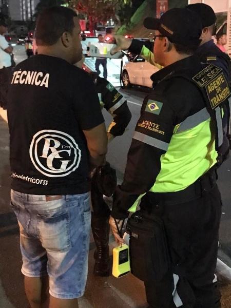 Motorista de trio elétrico é flagrado alcoolizado em Salvador - Divulgação