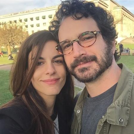Caco Ciocler e a namorada, Luisa Micheletti - Reprodução/Instagram