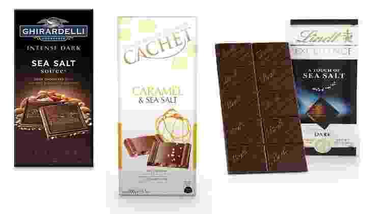 chocolates com sal marinho - Divulgação - Divulgação