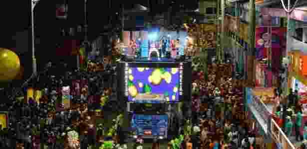 Parangolé  anima publico no primeiro  dia de festa no Carnaval  de Salvador 2020 na quinta feira 20 de fevereiro  no Circuito  Campo Grande. - Kleber Lobo/ AgFPontes/ Divulgação