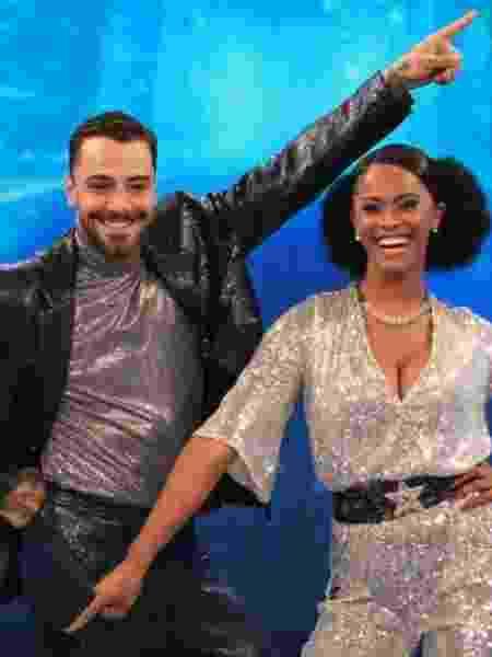 Felipe Titto e Brennda no Dança dos Famosos  - Divulgação/TV Globo