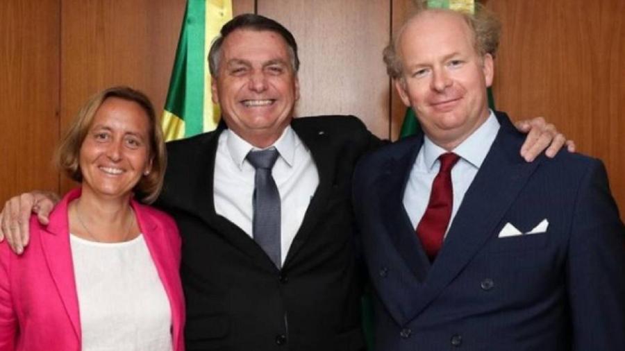 Beatrix Von Storch e Bolsonaro - Reprodução/Instagram
