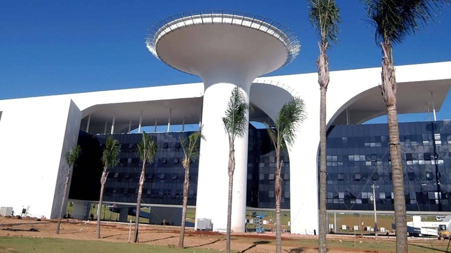 Cidade Administrativa, complexo de prédios que reúne órgãos públicos do governo de Minas Gerais - Renato Cobucci/EFE