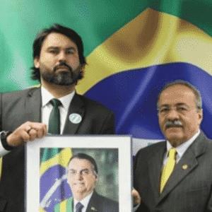 Leo Índio é assessor parlamentar do senador Chico Rodrigues (DEM-RR) - Reprodução/instagram
