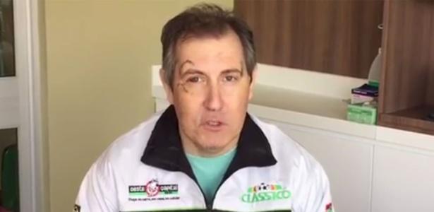 Rafael Henzel sobreviveu a acidente aéreo na Colômbia