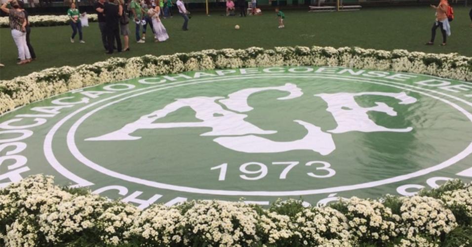 Velório das vítimas de queda do avião da Chapecoense será hoje em Chapecó, na Arena Condá