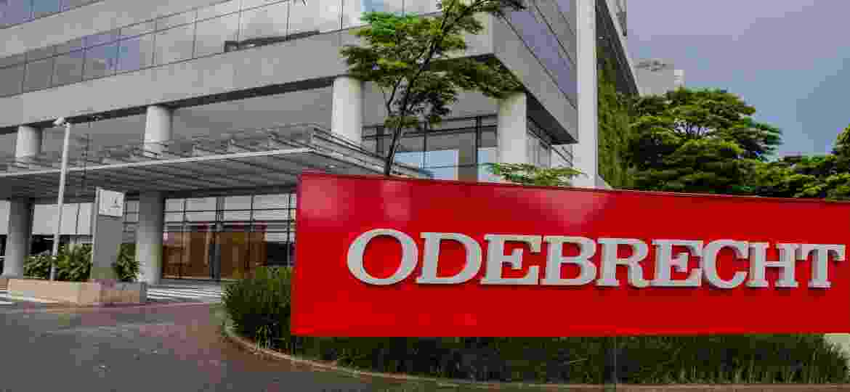 Fachada da sede da empresa Odebrecht, na zona oeste de São Paulo -  Eduardo Anizelli/Folhapress