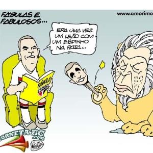 Corneta FC: Era uma vez um Leão com um espinho na pata...