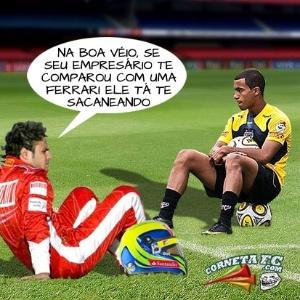 Corneta FC: Felipe Massa manda recado para Lucas