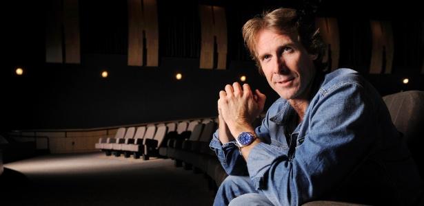 """O cineasta Michael Bay, diretor dos filmes da franquia """"Transformers"""""""