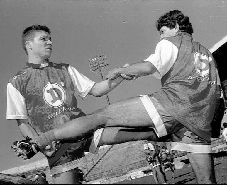 Luizão treina no Guarani, clube que o revelou, no início da carreira, em 1995