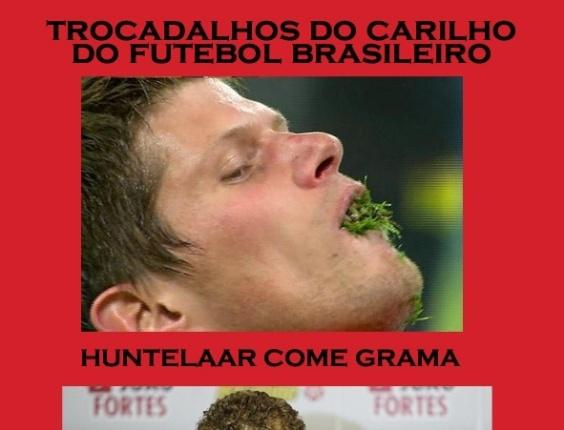 Corneta FC: Huntelaar come grama... E o Marcelo Mattos