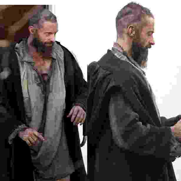 """Hugh Jackman aparece maltrapilho na pele de Jean Valjean em """"Os Miseráveis"""" (20/3/12) - Reprodução/Twitter"""