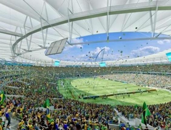 Maracanã deve ficar pronto em fevereiro de 2013. Metade da obra será concluída em abril