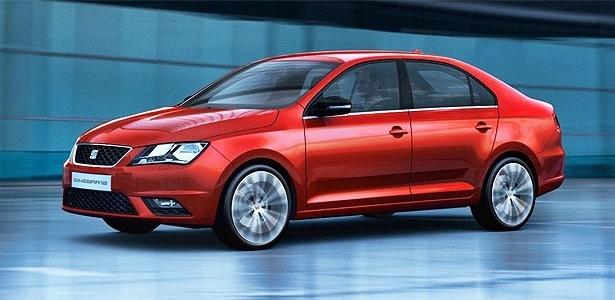 Seat Toledo Concept: carro pode ser paradigma para novo modelo na China - Divulgação/Newspress