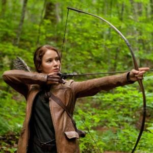 """Jennifer Lawrence em cena de """"Jogos Vorazes"""", de Gary Ross"""