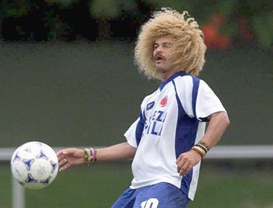 Valderrama, ex-jogador da seleção colombiana