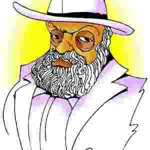 Coronel Lidu também foi relembrado pelo chargista Amorim. A exposição estará em cartaz no Risadaria, a partir deste sábado (24) - Divulgação