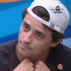 Fael diz para Fabiana que ela não o respeitou como adversário na prova do líder (23/3/12)