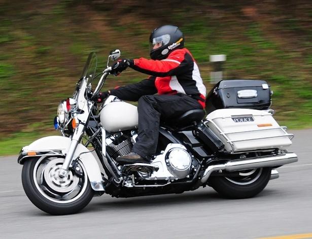 Road King Police é usada em todo o Brasil para rondas e também em escoltas - Doni Castilho/Infomoto