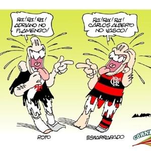 O que é pior: Adriano no Fla ou Carlos Aberto no Vasco?