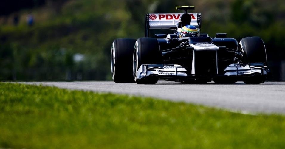Bruno Senna vai largar na 13ª posição no GP da Malásia