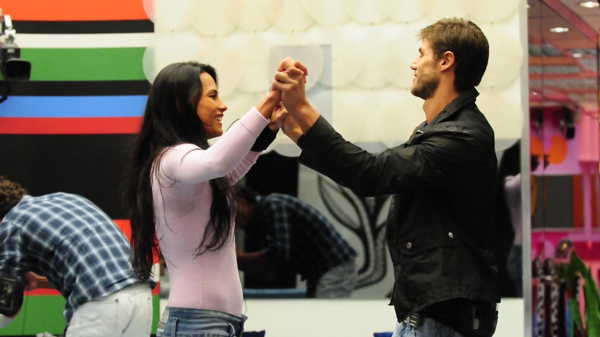 Jonas e Kelly estão no paredão (23/3/12)