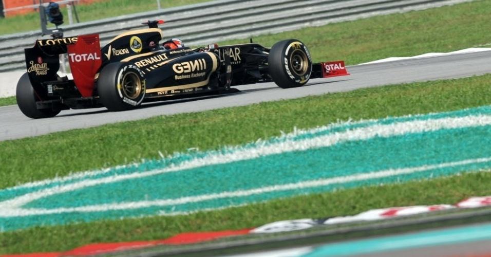 Kimi Raikkonen ficou em quinto no treino da Malásia, mas vai largar em décimo devido a uma punição
