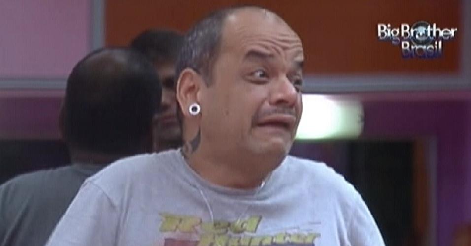 O mineiro João Carvalho foi eliminado no 11º paredão do