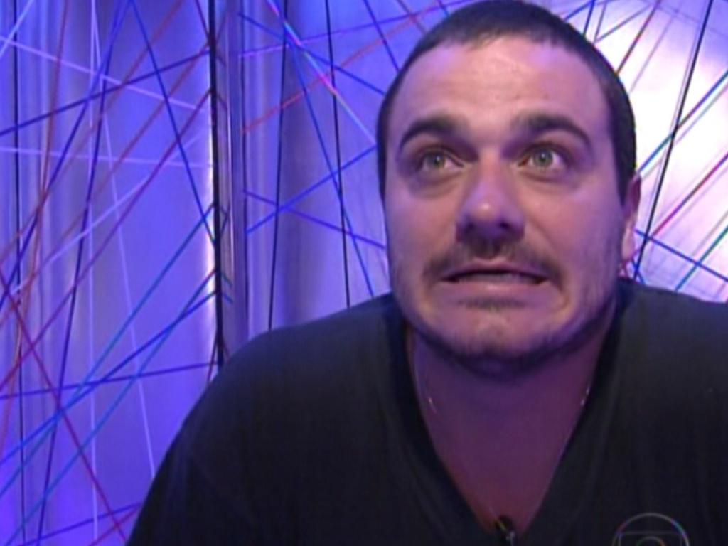 Rafa foi o sétimo eliminado do reality show com 94% dos votos (15/1/12)